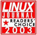 Linux Journal 2003 Readers' Choice