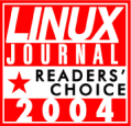 Linux Journal 2004 Readers' Choice